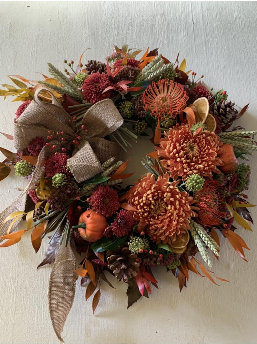 Halloween Wreath Class House Of Elliot Flowers